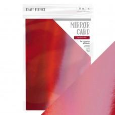 Craft Perfect - Mirror Card - A4 - Fire Stone Red