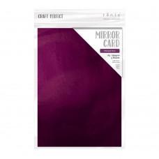Craft Perfect - Mirror Card - A4 - Midnight Plum