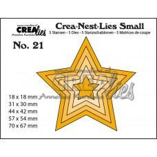 Crea-Nest-Lies Small Dies no.21 - Stars