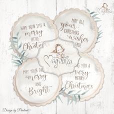 Christmas Sentiments M - Magnolia