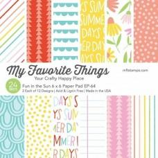 Fun in the Sun - 6x6 Inch Paper Pad - My Favorite Things