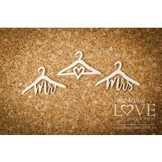 Hangers - Simple Wedding - Laserowe LOVE