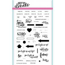 Interactively Yours Clear Stamp Set - Heffy Doodle