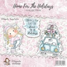 Home for the Holidays Stamp Sheet (3 stamps) - Magnolia