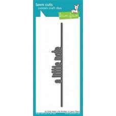 Lawn Cuts - A Little Note Line Border - Lawn Fawn