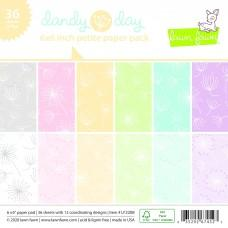 Dandy Day Petite - 6x6 Inch Paper Pad - Lawn Fawn