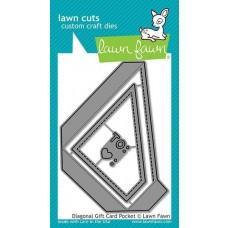 Lawn Cuts - Diagonal Gift Card Pocket - Lawn Fawn