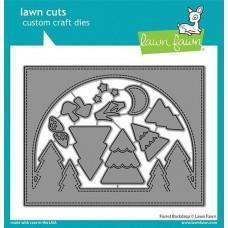 Lawn Cuts - Forest Backdrop - Lawn Fawn