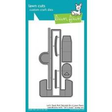 Lawn Cuts - Let's Toast Pull Tab Add-On - Lawn Fawn