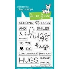 Long Distance Hugs - Lawn Fawn