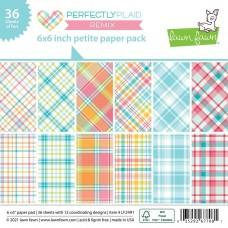 Perfectly Plaid Remix - 6x6 Inch Paper Pad - Lawn Fawn