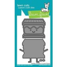 Lawn Cuts - Smiley S'more - Lawn Fawn
