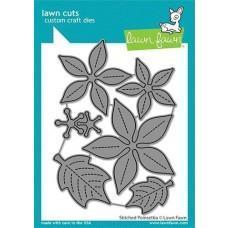 Lawn Cuts - Stitched Poinsettia - Lawn Fawn