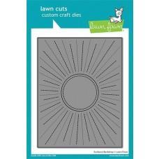 Lawn Cuts - Sunburst Backdrop - Lawn Fawn