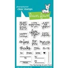 Tiny Tag Sayings - Lawn Fawn
