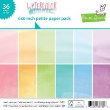 Watercolor Wishes - 6x6 Inch Paper Pad - Lawn Fawn