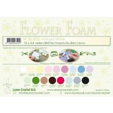 Leane Creatief - Flower Foam A4 - Antique White