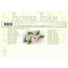 Leane Creatief - Flower Foam A4 - Off White