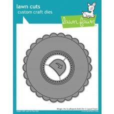 Lawn Cuts - Magic Iris Scalloped Add-On - Lawn Fawn