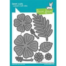 Lawn Cuts - Happy Hibiscus - Lawn Fawn