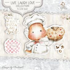 Pizza My Heart Art Stamp Kit - Magnolia