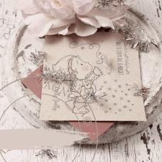 Silent Night Rubber Stamp Sheet - Magnolia