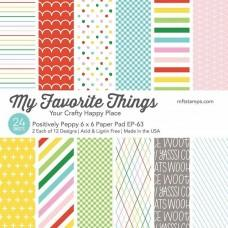 Positively Peppy - 6x6 Inch Paper Pad - My Favorite Things