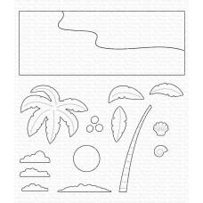 Beach Scene Builder Die-namics - My Favorite Things
