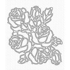 Graphic Roses Die-namics - My Favorite Things