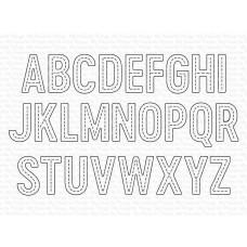 In Stitches Alphabet Die-namics - My Favorite Things