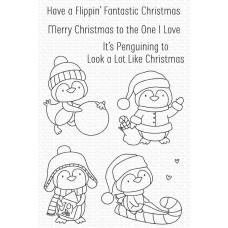 It's Penguining to Look a Lot Like Christmas - My Favorite Things