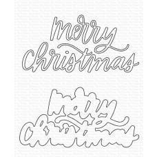 Merry Christmas Die-namics - My Favorite Things