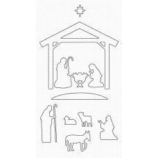Nativity Silhouette Die-namics - My Favorite Things