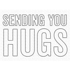 Sending You Hugs - Die-Namics - My Favorite Things