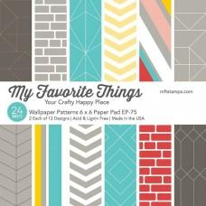 Wallpaper Patterns - 6x6 Inch Paper Pad - My Favorite Things