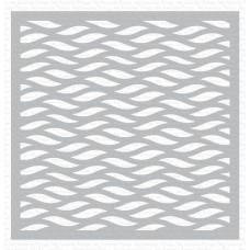 Wavy Lines Stencil - My Favorite Things