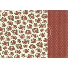 Paper - Christmas florals - Let's be Jolly