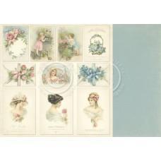 Paper - Images 12x12 – Paris Flea Market