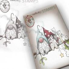 Gnome Christmas Love - Polkadoodles