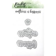 Craftiness Is Happiness Die - Picket Fence Studios