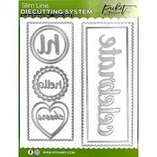 Slim Line Die Cutting System - Scallop Frames - Picket Fence Studios