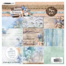 Studio Light - Summer Breeze nr.145 - 15x15cm Paper Pad
