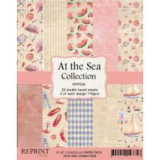 Reprint - At the Sea Collection - 6x6 Inch Paper Pack