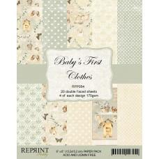 Reprint - Baby´s First Clothes Collection - 6x6 Inch Paper Pack