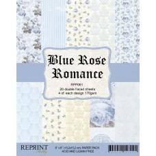 Reprint - Blue Rose Romance - 6x6 Inch Paper Pack