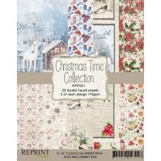 Reprint - Christmas Time - 6x6 Inch Paper Pack