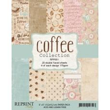 Reprint - Coffee Collection - 6x6 Inch Paper Pack