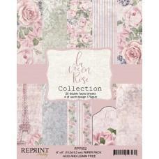Reprint - La vie en Rose Collection - 6x6 Inch Paper Pack