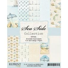 Reprint - Sea Side Collection - 6x6 Inch Paper Pack