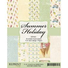 Reprint - Summer Holiday Collection - 6x6 Inch Paper Pack